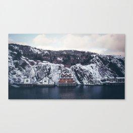 winter stage Canvas Print