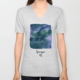 Scorpius Constellation Unisex V-Neck