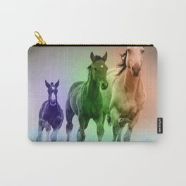 Horse Family #society6 #home decor #buyart Carry-All Pouch