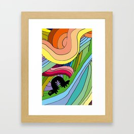 BOBY Framed Art Print