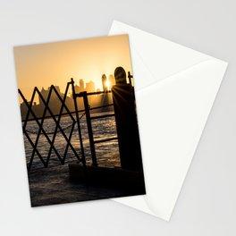 Staten Island Ferry: Sunrise Stationery Cards