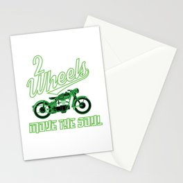 The Awesome & Cool Rider Tshirt MOVE THE SOUL Stationery Cards