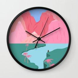 Girls' Oasis Wall Clock