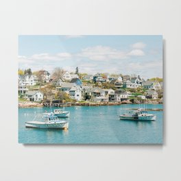 Stonington Boats 01 Metal Print