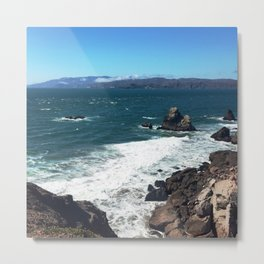 San Francisco Point Lobos Metal Print