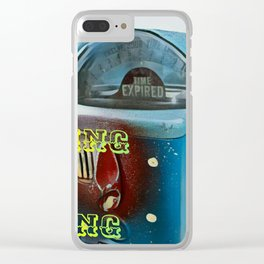 Time Flies - Get Busy Living! Clear iPhone Case