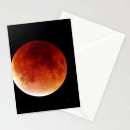 Super Moon Eclipse 2015 (Blood Moon) Stationery Cards