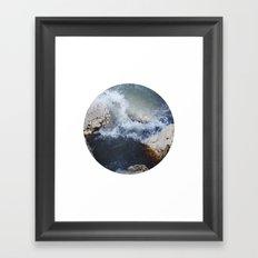 Planetary Bodies - Waves Framed Art Print