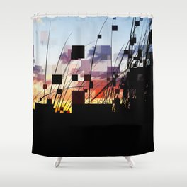 Sunset Dunes East Hampton Shower Curtain