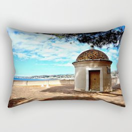 Historic Castle Hill (Colline du Chateau) In Nice Rectangular Pillow
