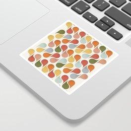 retro pattern no4 Sticker
