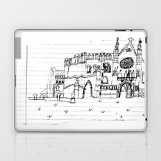 Childhood Drawings (Cathedral) Laptop & iPad Skin