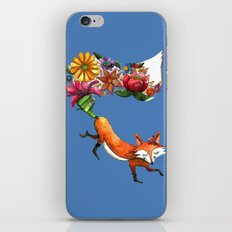 Hunt Flowers Not Foxes Two iPhone & iPod Skin