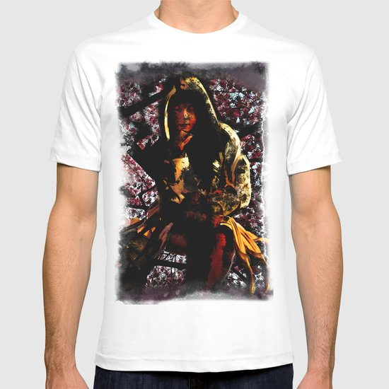 Shadow Mistress In Cherry Blossoms T-shirt