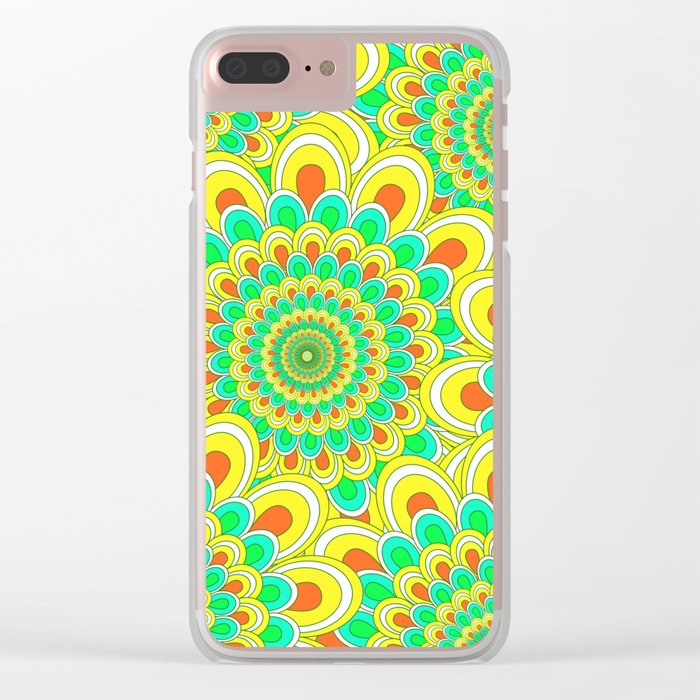 Pattern 54 Clear iPhone Case