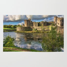 Caerphilly Castle Moat Rug