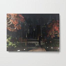 Gotham Garden (Autumn) Metal Print