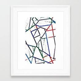 Altered Framed Art Print