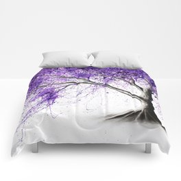 Purple Tree Comforters