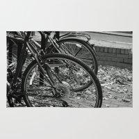 bikes Area & Throw Rugs featuring Bikes  by Renatta Maniski-Luke