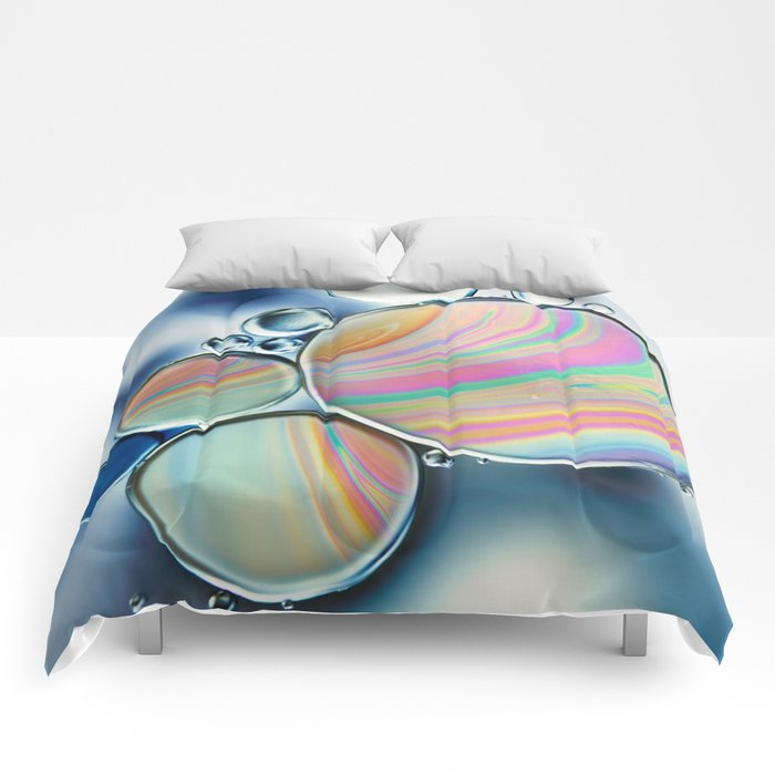 oil and water Comforters