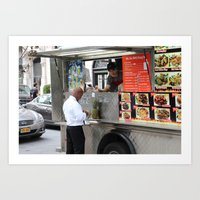 Restaurants are a thing of the past! Art Print