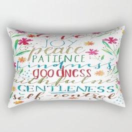 Spirit Fruit Print  Rectangular Pillow