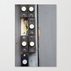 Doorbells Canvas Print