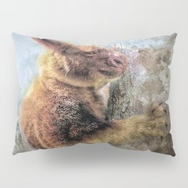 Tree Kangaroo Pillow Sham