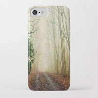 ghost iPhone & iPod Cases featuring GHOST PATH by Catspaws
