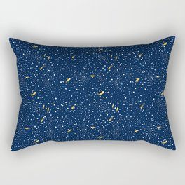 Stars and Comets Rectangular Pillow