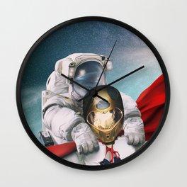Super robonaut and his friend Wall Clock