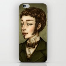 Vampire Gentleman iPhone & iPod Skin