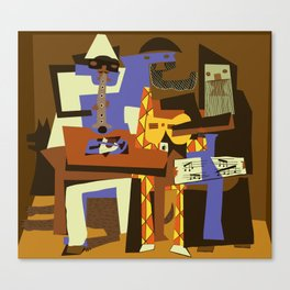 Picasso - The Musician Canvas Print