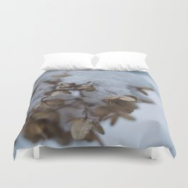Snowy Afternoons, I Duvet Cover