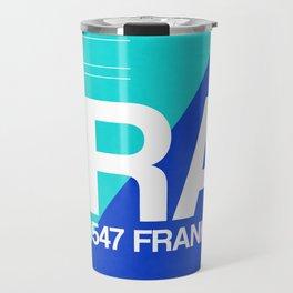 FRA Frankfurt Luggage Tag 1 Travel Mug