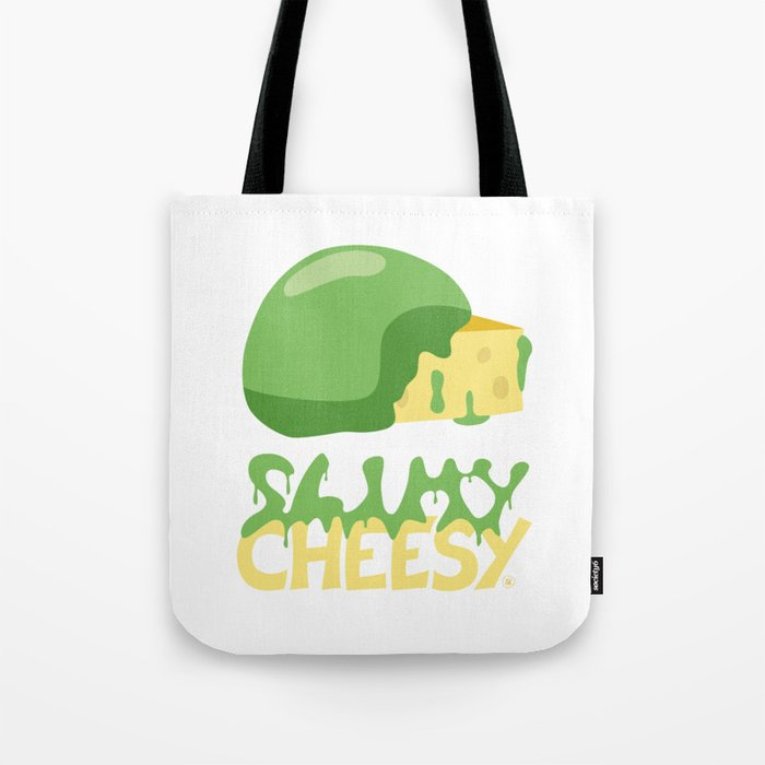Slimy cheesy Tote Bag