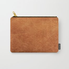 N91 - HQ Original Moroccan Camel Leather Texture Photography Carry-All Pouch