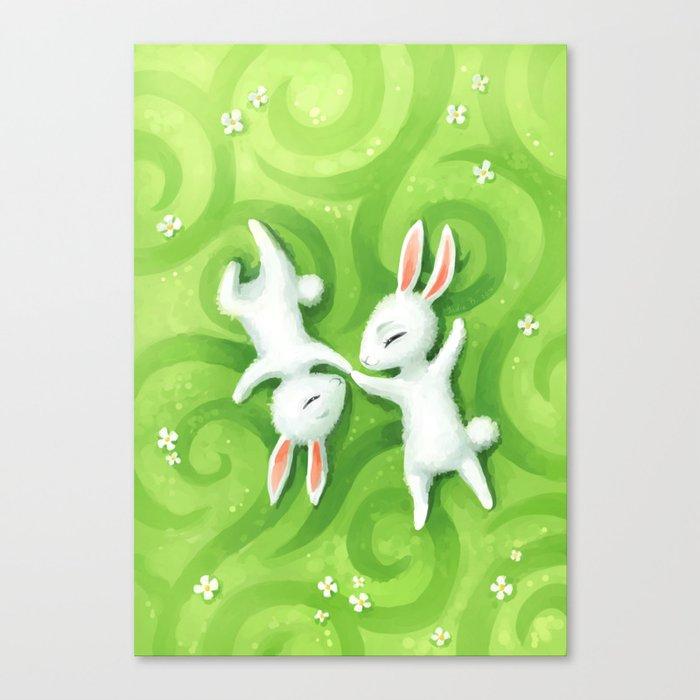 Fluffy Summer Canvas Print