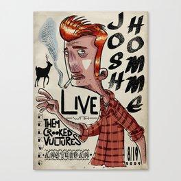 Smokin' Josh Canvas Print