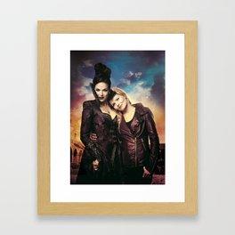 SwanQueen Love Framed Art Print