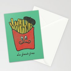 French Fries Stationery Cards