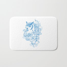 THE OBSCURE OWL Bath Mat