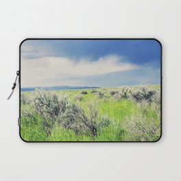 Sagebrush Steppe Before the Storm Laptop Sleeve