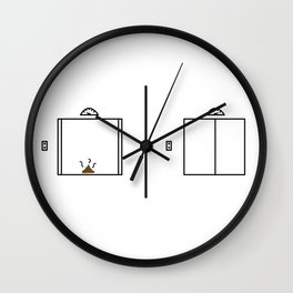 Take that shit to a whole new level Wall Clock