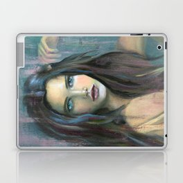Adolphine Wolf Woman Original Laptop & iPad Skin