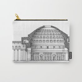 Section of the Pantheon - Rome Carry-All Pouch