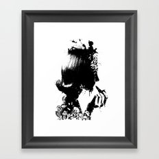 WOMAN SOLDIER Framed Art Print