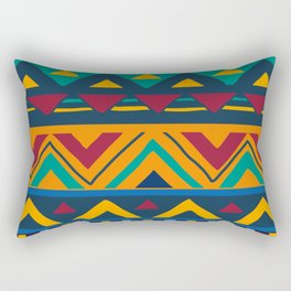 African Style No9 Rectangular Pillow
