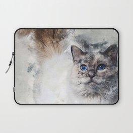 Birman Cat 11 Months Old S Laptop Sleeve